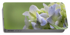 Hydrangea Blossom Portable Battery Charger by Katie Wing Vigil