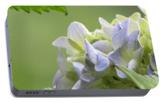 Portable Battery Charger featuring the photograph Hydrangea Blossom by Katie Wing Vigil
