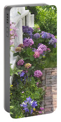 Hydrangeas  Hwc Portable Battery Charger
