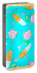 Ice Cream I Scream Portable Battery Charger