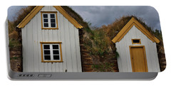 Icelandic Turf Houses Portable Battery Charger