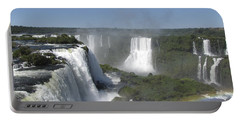Portable Battery Charger featuring the photograph Iguazu Falls by David Gleeson