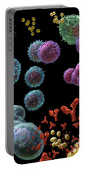 Immune Response Antibody 5 Portable Battery Charger