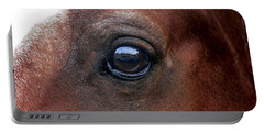 Portable Battery Charger featuring the photograph In His Sight by EricaMaxine  Price