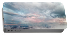 Portable Battery Charger featuring the photograph In The Clouds by Jeannette Hunt