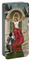 In The Venusburg Portable Battery Charger by John Collier