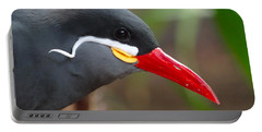 Portable Battery Charger featuring the photograph Inca Tern by Julia Wilcox