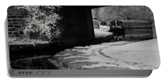 Portable Battery Charger featuring the photograph Infrared At Llangollen Canal by Beverly Cash