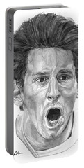 Intensity Lionel Messi Portable Battery Charger by Tamir Barkan