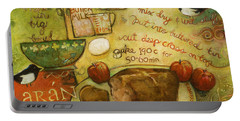 Irish Brown Bread Portable Battery Charger