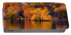 Island  In Fall Portable Battery Charger