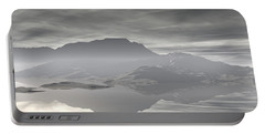 Portable Battery Charger featuring the digital art Isle Of Serenity by Phil Perkins