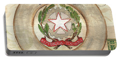 Italian Coat Of Arms Portable Battery Charger