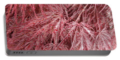 Portable Battery Charger featuring the photograph Japanese Maple by Laurel Best
