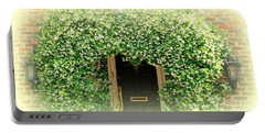 Jasmine Covered House Door In Charleston Sc Portable Battery Charger