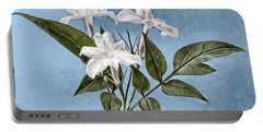 Jasminum Officinale Portable Battery Charger