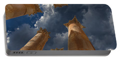 Portable Battery Charger featuring the photograph Jerash by David Gleeson
