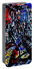 Jesus Meets Mary On Calvary Portable Battery Charger