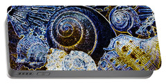 Abstract Seashell Art Portable Battery Charger