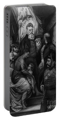 John Brown Meeting Slave Mother Portable Battery Charger