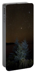 Portable Battery Charger featuring the photograph Jupiter  Over Otter Point 2 by Brent L Ander