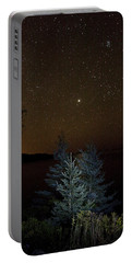 Portable Battery Charger featuring the photograph Jupiter  Over Otter Point 3 by Brent L Ander