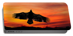Portable Battery Charger featuring the photograph Juvenile Sunset  by Randall Branham