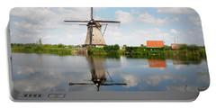 Kinderdijk Windmill Portable Battery Charger