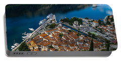 Portable Battery Charger featuring the photograph Kotor Montenegro by David Gleeson