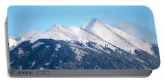 La Sal Mountains 111 Portable Battery Charger by Pamela Walrath