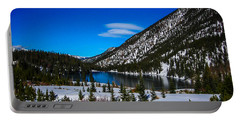 Portable Battery Charger featuring the photograph Lake In The Mountains by Shannon Harrington