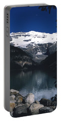 Portable Battery Charger featuring the photograph Lake Louise II by Sharon Elliott
