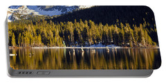 Portable Battery Charger featuring the photograph Lake Mary Reflections by Lynn Bauer