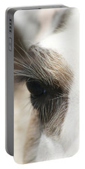 Portable Battery Charger featuring the photograph Lama by Heidi Poulin