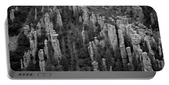 Portable Battery Charger featuring the photograph Land Of Standing Up Rock  by Vicki Pelham