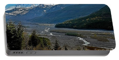 Portable Battery Charger featuring the photograph Landscape Of Mount St. Helens Volcano Washington State Art Prints by Valerie Garner