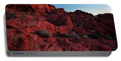 Last Light In Valley Of Fire Portable Battery Charger