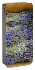 Lavender Bundles Portable Battery Charger by Lainie Wrightson