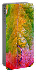 Portable Battery Charger featuring the photograph Leaf 2 by Bill Owen