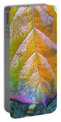 Portable Battery Charger featuring the photograph Leaf by Bill Owen