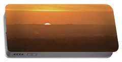 Leicestershire Sunrise Portable Battery Charger by Linsey Williams