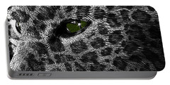 Leopard Within Portable Battery Charger
