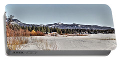 Portable Battery Charger featuring the photograph Life On The Lake by Janie Johnson