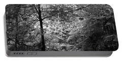 Portable Battery Charger featuring the photograph Light In The Woods by Kathleen Grace