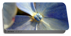 Portable Battery Charger featuring the photograph Little Blue Flower by Kay Lovingood
