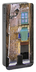 Little Street Of Palermo Portable Battery Charger