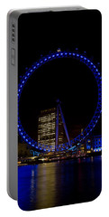 London Eye And River Thames View Portable Battery Charger