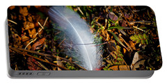 Lonely Feather Portable Battery Charger by Doug Long