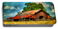 Long Road Barn Portable Battery Charger by Lynne Jenkins