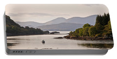 Looking To The Isle Of Mull Portable Battery Charger